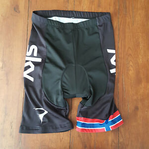 Mens XL Cycling Shorts Compression Padded SKY X-Large