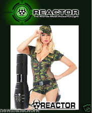 NEW REACTOR EXTREME Flashlight Mil Spec Tactical 3X Brighter USA SELLER IN STOCK