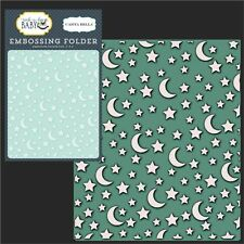 MOON AND STARS folder - Carta Bella embossing folders CBRBB64032 baby,night,sky