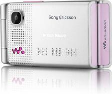 NEW Sony Ericsson W380i Unlocked Tri Band Cellular Phone - Blushing Silver
