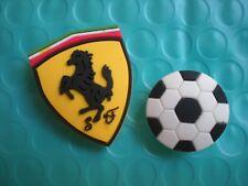Jibbitz Croc Clog Shoe Charms Button Plug Accessorie Bracelet WristBand Soccer