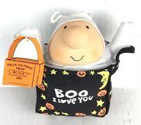 "Vintage 1991 ""BOO I Love You"" ZIGGY Stuffed Plush Toy Doll. American Greetings"