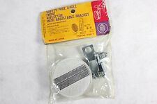 Royce Union Safety Wide Angle Bicycle Front Reflector w Adjustable Bracket 26617