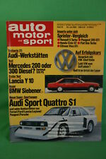 AMS 15/85 Audi Sport Quattro S1 R5 Turbo Mercedes 300 D 7er BMW Firma Matchbox