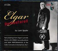 Elgar Remastered CD NEW Lani Spahr 4-disc