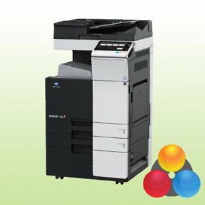 Konica Minolta bizhub C368 mit Unterschrank Kopierer Drucker Scanner 2.PF A3