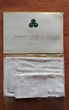 Vintage 8 Piece Ritz Damask Luncheon Set Beauty Kraft 4 Mats 4 Napkins in Box