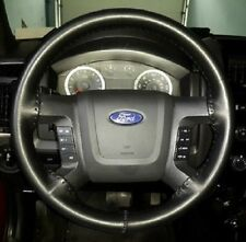 Wheelskins Black Leather Steering Wheel Cover 2012-2013 Ford F150