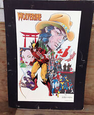 Wolverine Leonardi & Austin Boarded Poster Marvel 1985