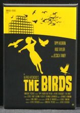 "The Birds Movie Poster 2"" X 3"" Fridge Magnet. Alfred Hitchcock Classic"