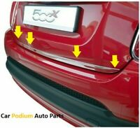 Fit Nissan Qashqai+2 J10 Chrome Rear Trunk Tailgate LidMolding Trim S.Steel