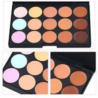 Professional 15 Colors Salon Party Concealer Contour Face Cream Makeup Palette H