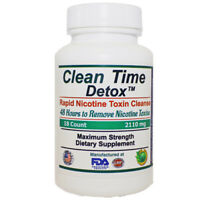 Nicotine Detox Supports Removal Toxins and Impurities in 48 Hours - Clean Time D