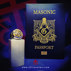 Three Masonic Passports and a Blue Lodge Ring
