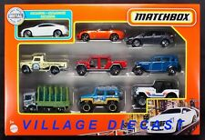 2021 Matchbox 9-Pack w/Exclusive Cadillac CTS Coupe DIAMOND WHITE TRICOAT / MIB