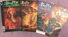 Lot of 4 BUFFY THE VAMPIRE SLAYER COMIC BOOKS (Season 8) DARK HORSE JOSS WHEDON