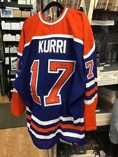 2017 Upper Deck Authenticated Jari Kurri Oilers Jersey
