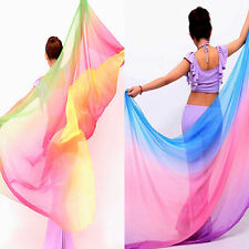"77""x42""  Belly Dance Veil Scarf Shawl multiple"