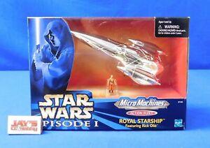 Royal Starship Star Wars Episode I Micro Machines Action Fleet 1999 Hasbro New