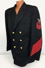 Vintage US Navy Chief Hospital Corpsman Dress Blue Jacket
