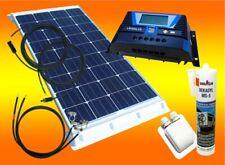 100Watt Wohnmobil Camping Solaranlage, 12 Volt SET, PV Solar Panel Modul