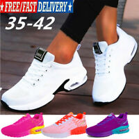 Women's New Cushion Sneakers Casual Sports Breathable Running Tennis Shoes Gym