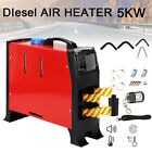 5000w Air Diesel Heater Lcd Remote 5kw 12v For Lorry Motor Homes Car Boat