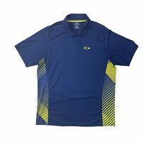 Oakley Short Sleeve Regular Fit Golf Polo Shirt Men's XL