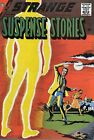 Strange Suspense Stories 38 Comic Book Cover Art Giclee Reproduction on Canvas