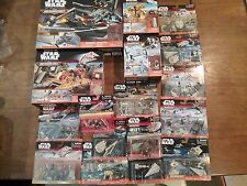 HUGE LOT NEW STAR WARS MICRO MACHINES, STAR DESTROYER, SHIPS, FIGURES, PLAYSETS