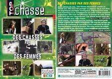 DVD Des chasses par des femmes  - Chasse du grand gibier - Top Chasse