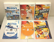 Wii Games: Wii Sports Resort, Active Personal Trainer & Gold's Gym Dance Workout