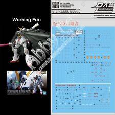 for Bandai RG 1/144 SNRI XM-X1 Crossbone Gundam X1 Model DL Water Decal Stickers