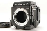 [N Mint] Mamiya RB67 Pro SD Body Waist Level Finder + 120 Film Back from JAPAN