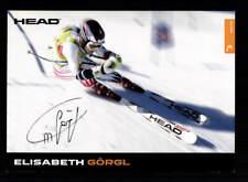 Elisabeth Görgl Autogrammkarte Original Signiert +92441