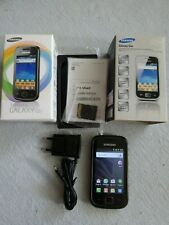 Samsung  Galaxy GIO GT-S5660 - Dark Silver (Ohne Simlock) Smartphone kpl. in OVP