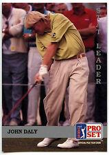 John Daly #179 PGA Tour Golf Set pro 1992 tarjeta de comercio (C322)