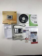 Canon PowerShot A810 HD Digital Camera 5x Optical Zoom 16MP w/ Box, SD Card, CD