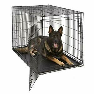 Life Stages LS-1648 Single Door Folding Crate for X-Large Dogs91 - 110lbs