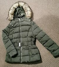 New Look Size 14 Belted Puffer Jacket Bnwt