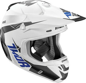 THOR S16 VERGE HELMET REBOUND WHITE GREY MATT MOTOCROSS MX REDUCED CHEAP SECTOR