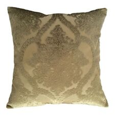 "Upholstery Velvet Damask 20x20"" Green Decorative/Throw Pillow Case/Cushion Cover"