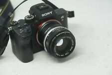 SONY E MOUNT ADAPTED 50MM F1.8 OLYMPUS ZUIKO PRIME LENS ALL A7 NEX A6000 A6500