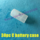 R6 AA 14500 to C size battery converter case adapter holder spacer switcher kit