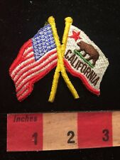 New listing Usa & State Of California Flags Brown Bear / Grizzly Bear Flag 81D8