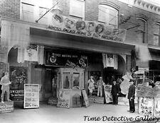 Nixon's Theater, Milford, Delaware - 1922 - Historic Photo Print