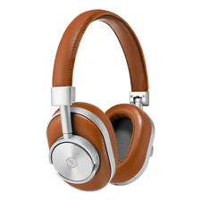 MASTER & DYNAMIC MW60S2 Auricular Inalámbrico Silver Metal / Brown Leather Nueva