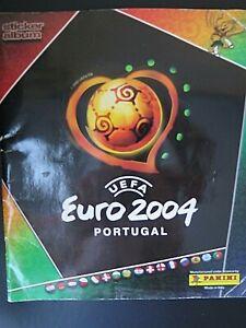 PANINI FOOTBALL LOT DE 10 IMAGES AU CHOIX EURO 2004 A CHOISIR DANS LA LISTE