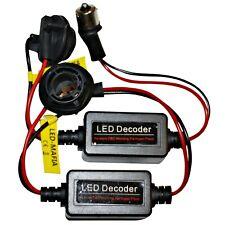 2x Bau15S Fassung Sockel Lastwiderstand Widerstand Widerstände LED 12V PY21W