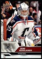 2019-20 UD AHL Base #9 Veini Vehvilainen - Cleveland Monsters